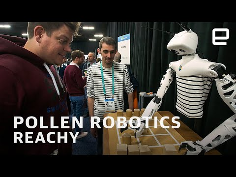 Pollen Robotics Reachy hands-on at CES 2020