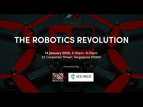 [YouTube Live] The Robotics Revolution