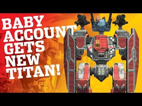 War Robots - Android Baby Account Gets Arthur Titan + Special Delivery Crate Opening | WR Gameplay