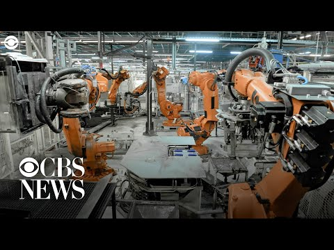 Some jobs robots are now doing